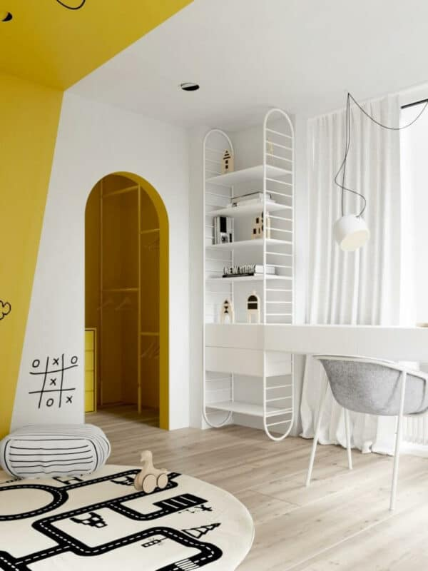LIV Design looks at the colours of the year for 2021 in this playful children's room.